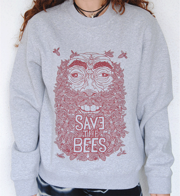 sudadera-SAVE-THE-BEES